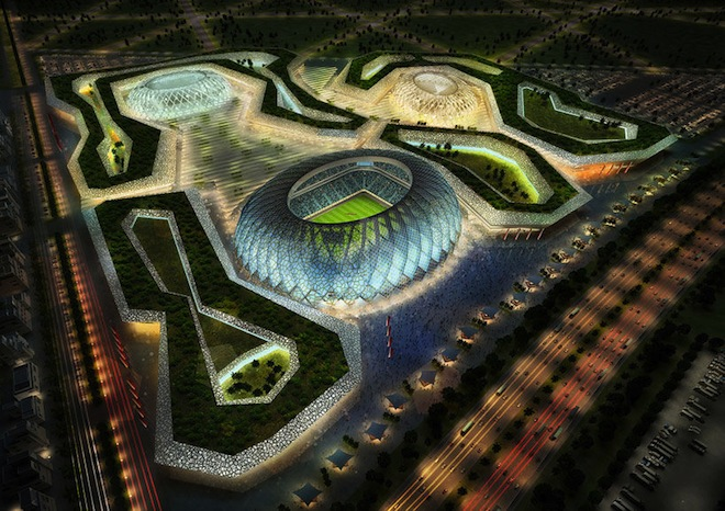 Zaha Hadid Adds Star Power to Qatar World Cup