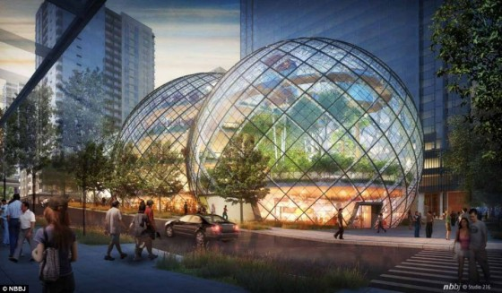 Amazon Biosphere Office Combines Plants and People in Missed Opportunity
