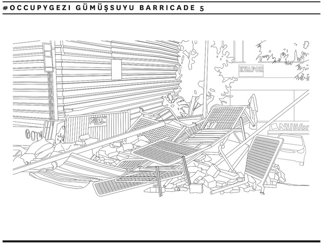 occupygezi, social protest, turkey's protest movement, gezi park, taksim square, recycled materials, Herkes İçin Mimarlık, green design, sustainable design, eco-design