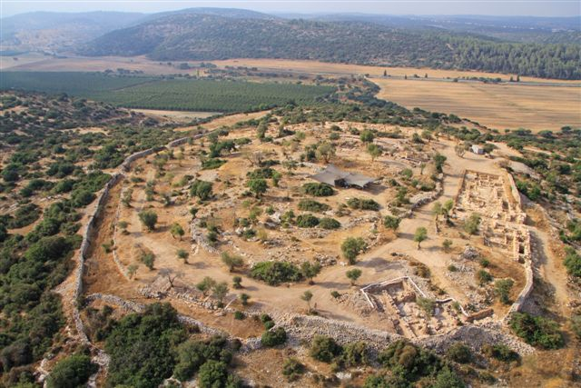 King David's Palace Discovered