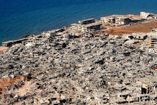 Nahr el-Bared Refugee Camp in tripoli