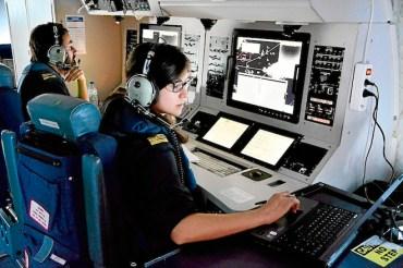 Mediterranean Surveillance Crew Eyes Oil Spills from the Sky
