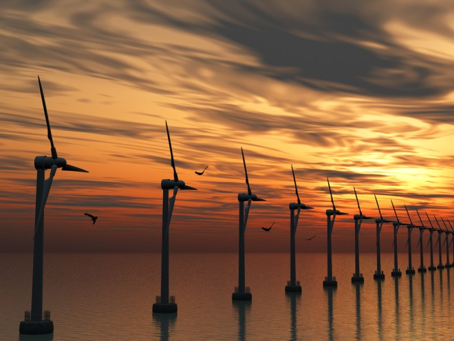 Red Sea Wind Turbines