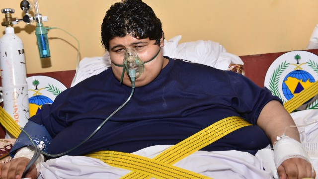 Heaviest Man in Saudi Gets Royal Treatment