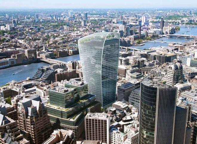death ray building london