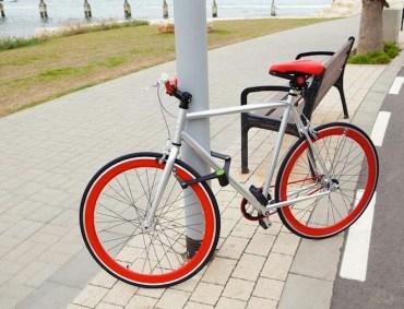 Fashionable Foldylock Keeps Tel Aviv Bicycle Thieves at Bay