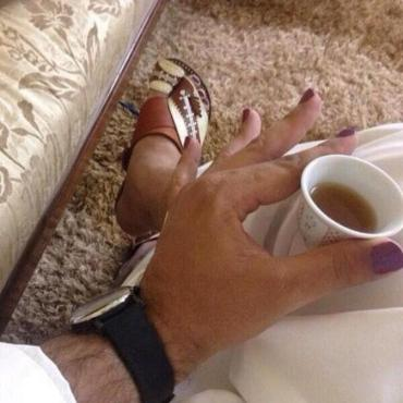 #Crazy Arab Men #Posing #Wearing Nail Polish #WTF