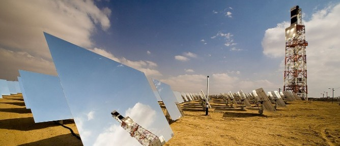 BrightSource Builds 121 MW Solar Thermal Baby in Israel