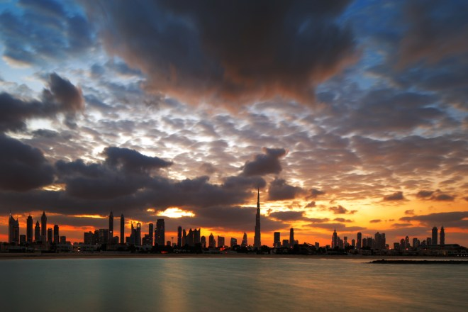 Burj Khalifa Duststorm