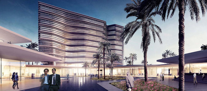 Central Bank of Libya, Henning Larsen Architects, Islamic architecture, Libyan design, green design Middle East, desert architecture, berber architecture, earth construction, cliche in Arab architecture
