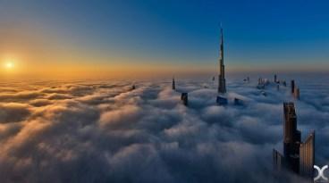 Dubai fog and urban canyons through the lens of Daniel Cheong