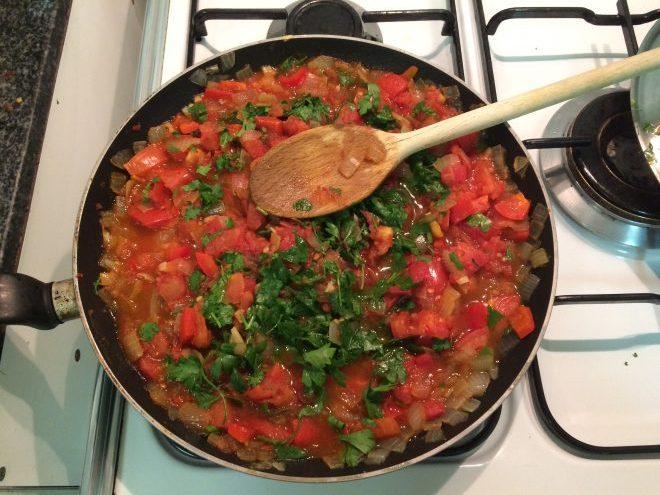 tomato and pepper recipe