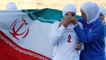 "No ""Balls"" allowed in Iran's female soccer league"