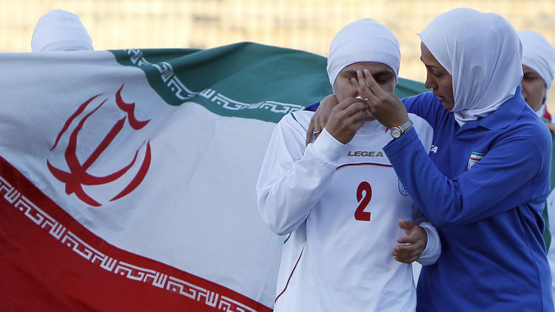 "No ""Balls"" allowed in Iran's female soccer league"