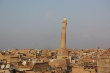 Iraq's leaning Hadba Tower is dangerously close to collapse