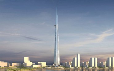 Saudi's 1km high Kingdom Tower needs 500,000 cubic meters of concrete