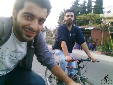 Syrian conflict and broken roads opens new business channels for cycling