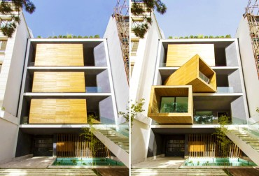 Rooms rotate with the push of a button in this extraordinary Iranian house