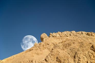 Super moon in the Middle East