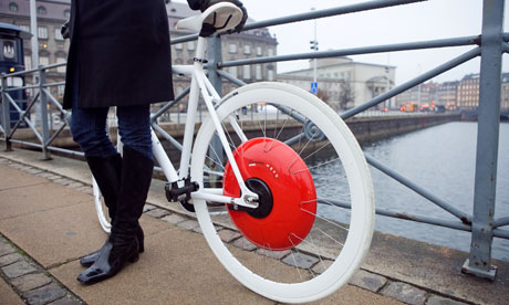 Copenhagen Wheel is like a dynamo rocket booster for bikes! [video]