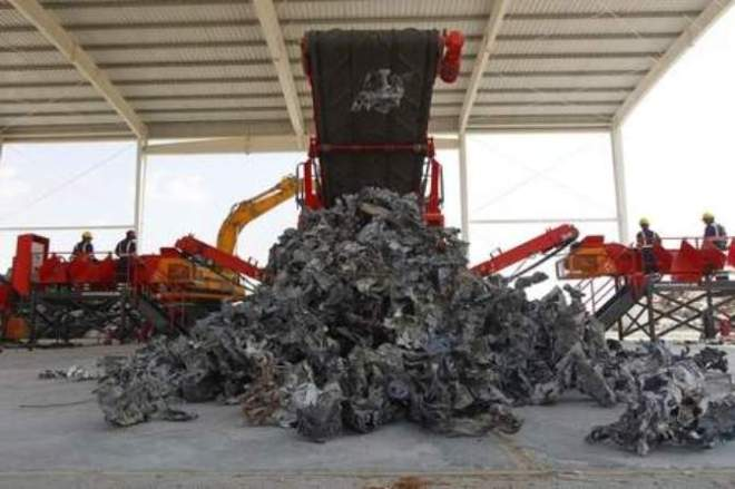 UAE first car recycling plant