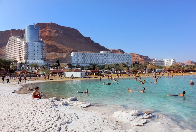 Israel and Jordan sign deal to save the Dead Sea