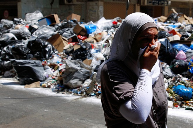 Lebanon's drowning in its own waste!