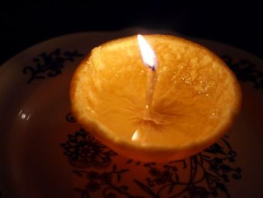 The orange peel candle: A how-to guide
