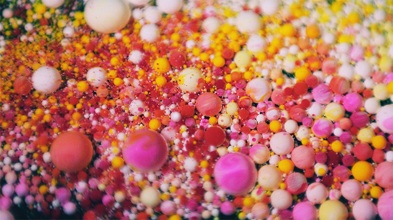 "Ruslan Khasanov's Microbeads in Awesome ""Psychedelic"" Soap Are Polluting Our Seas"