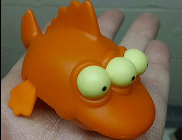 radioactive fish head simpsons