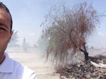 Trash selfies to shame Tunisia's government