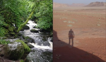 Water rights of Ireland and Jordan