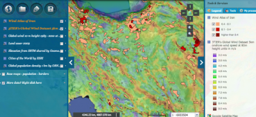 Find the wind in Iran with these handy energy maps