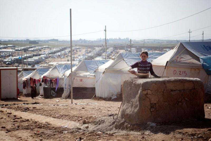 Yezidis get winter aid from Israelis