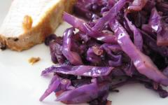Purple Cabbage Kraut