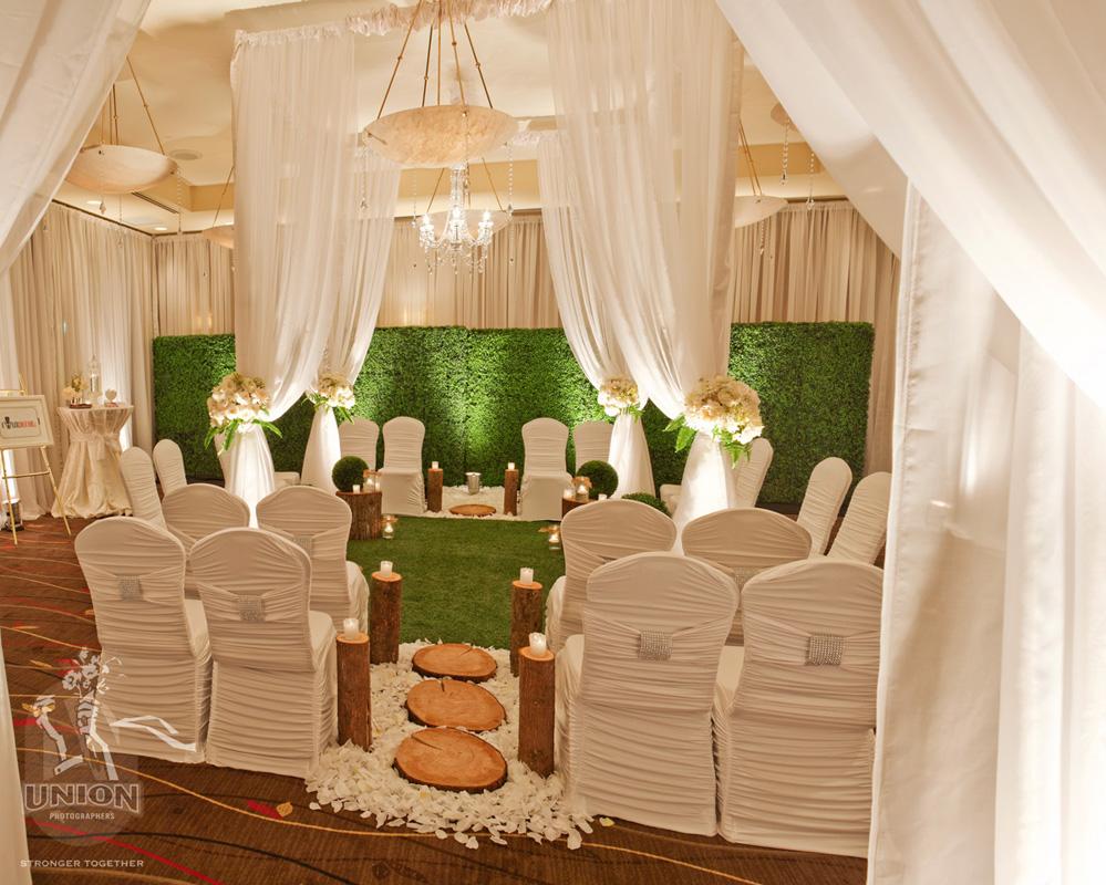 indoor wedding decor Greenscape Natural Wood Wedding Decor Accents