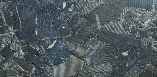 Torzo Denim surfacing material using recycled denim