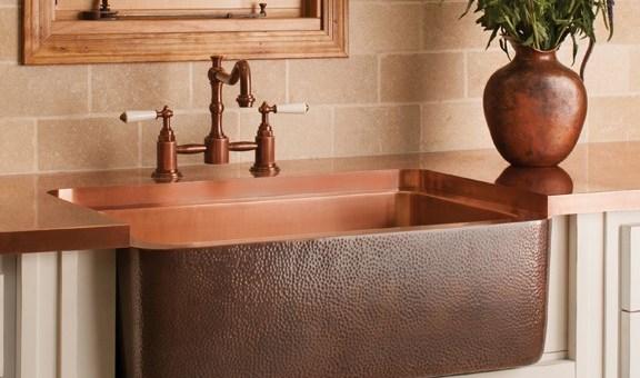 Stone Forest Copper Farmhouse Sink