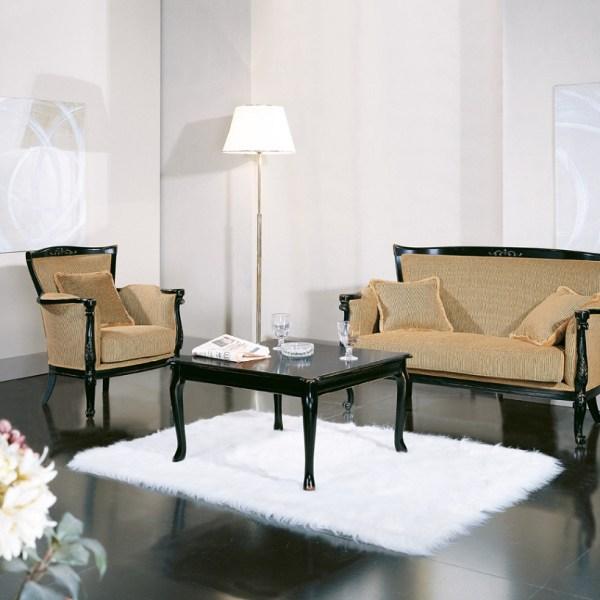 sofa, krzesło oraz stół