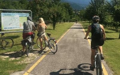 Ciclabile della Valsugana: dai laghi di Caldonazzo e Levico a Bassano del Grappa
