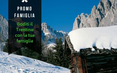 Promozione Family – l'offerta per una vacanza in famiglia in Trentino