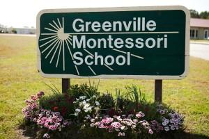 GMS School sign
