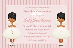Small Of First Communion Invitations
