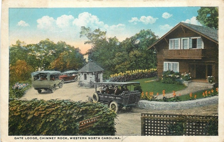 Chimney Rock Entrance 1920