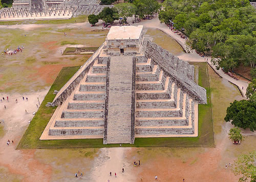 Chichén Itzá Photo by Dronepicr - The Pyramids of America – Greetings from the Past