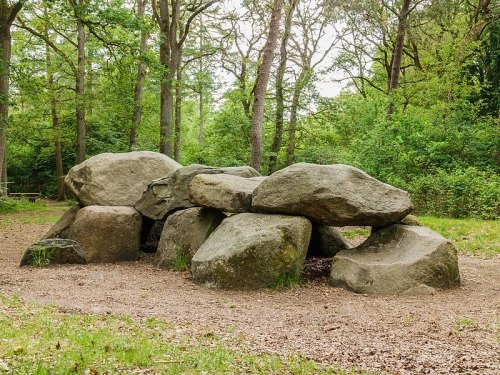 Strubben-Kniphorstbos. Hunebed, Dolmen Photo by Dominicus Johannes Bergsma - The Mystery of the Hunebedden Dolmens of Drenthe, Netherlands – Greetings from the Past