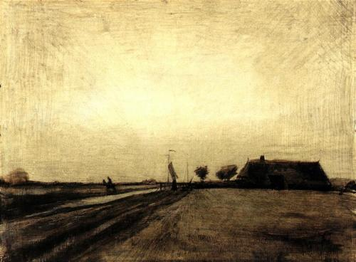 Dutch province of Drenthe Landscape in Drenthe, Netherlands Vincent van Gogh, 1883 - The Mystery of the Hunebedden Dolmens of Drenthe, Netherlands – Greetings from the Past