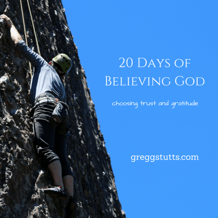 20 Days of Believing God