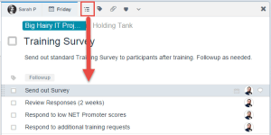 Sub-tasks have the same features of normal tasks.
