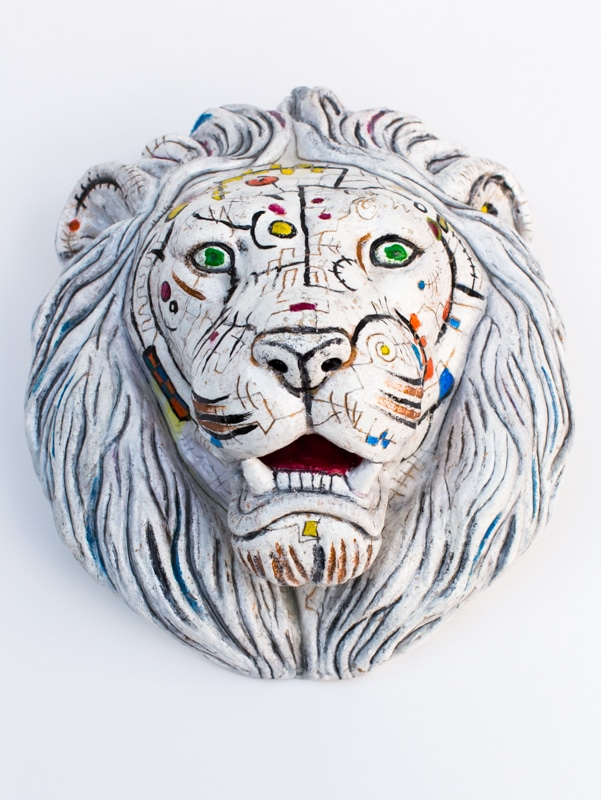 Lion Sculpture Gregory Beylerian 8